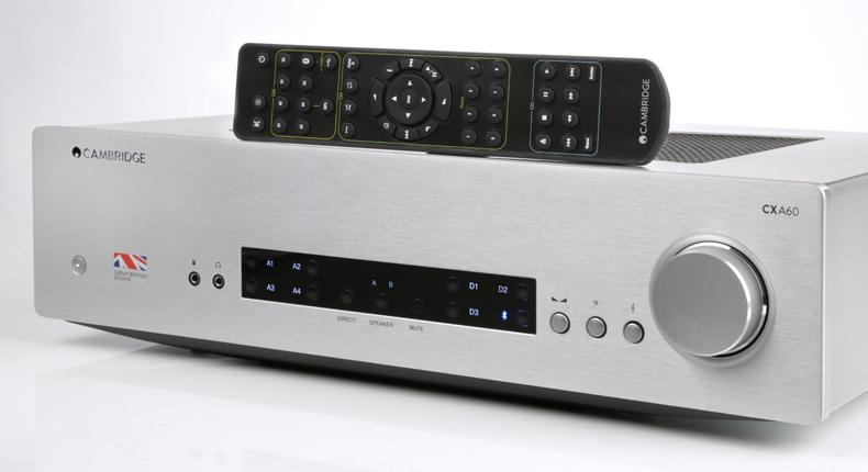Cambridge Audio CX60A versterker zilver