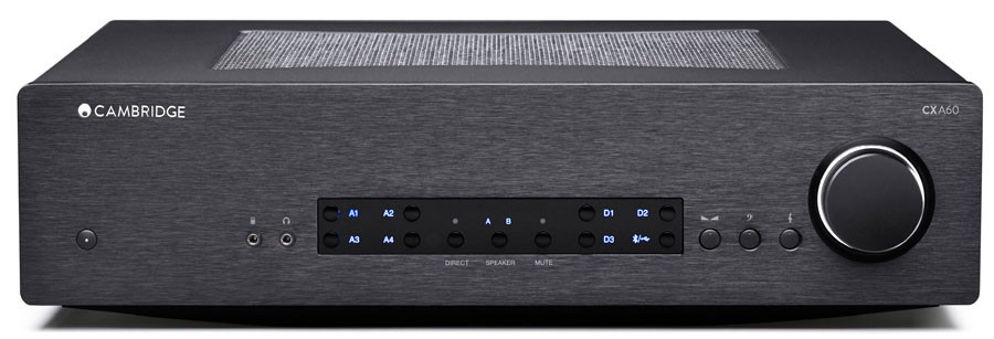 Cambridge Audio CX60A versterker zwart