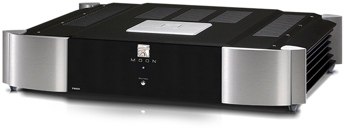 Moon 760A stereo eindversterker, 2-tone