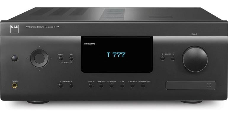 NAD T 777 v3 AV receiver-netwerkspeler met BLUOS DEMO