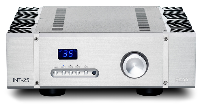 Pass Labs  INT_25 Stereo versterker | HIFI STUDIO WILBERT UTRECHT