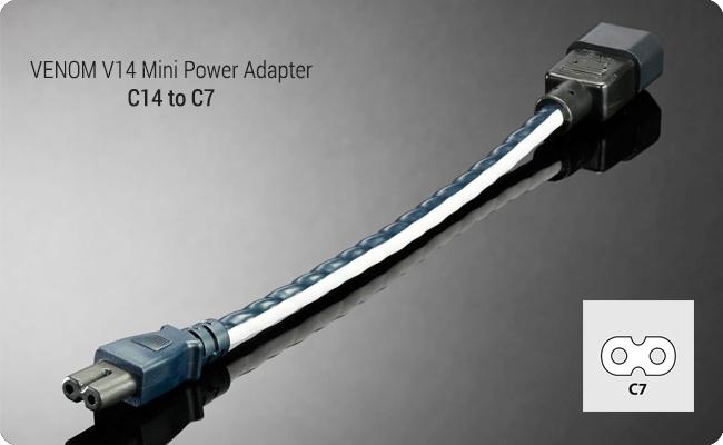 Shunyata Venom mini adapter C14>C7