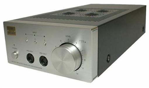 Stax SRM 007tII buizen hoofdtelefoonversterker