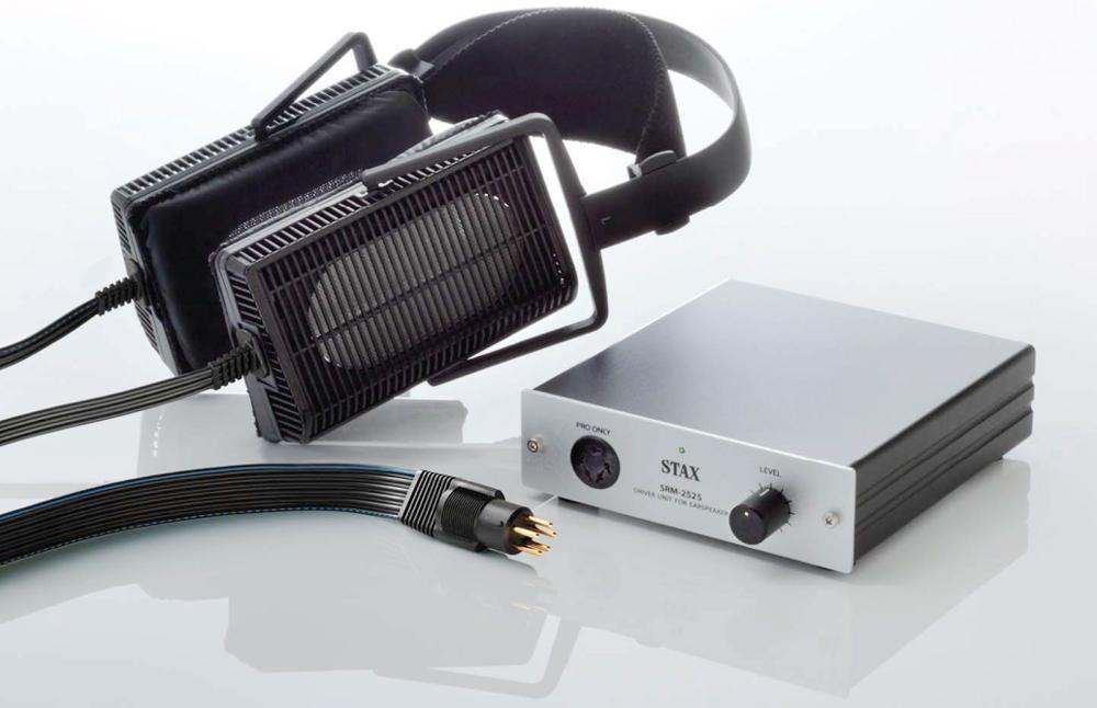 Stax SRS 3100 Elektrostatische hoofdtelefoon met voeding