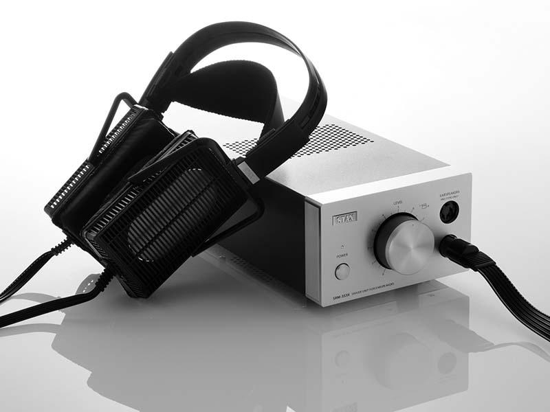 Stax SRS 5100 Elektrostatische hoofdtelefoon met klasse A voeding