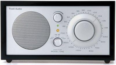 Tivoli Audio  Model 1 radio zwart zilver (BT)
