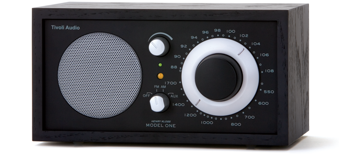 Tivoli Audio  Model 1 radio zwart